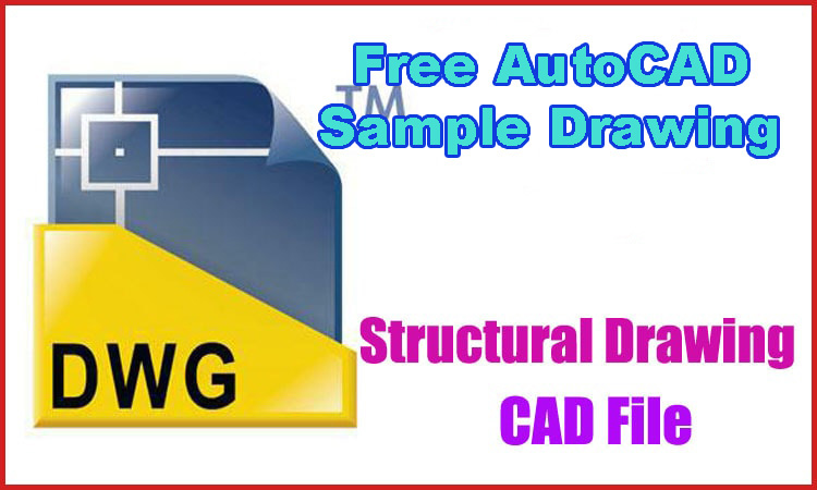 Structural Details Dwg Autocad Drawing Download